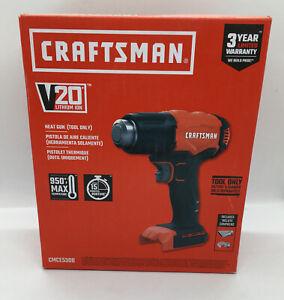 NEW Craftsman V20 Heat Gun (Tool Only) 950 Degrees Max 15 Min Run Time CMCE530B