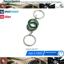 Jaguar Chrome & Enamel Valet Keyring Keyfob Official Merchandise JHR1777 CHEAP !