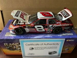 DALE EARNHARDT Jr 1/24 #8 2003 Bud All Star Game CHROME Monte Carlo Action RARE