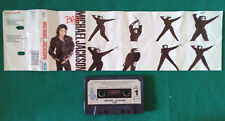 MC Musicassetta Michael Jackson Bad ROCK R&B POP 1987 HOLLAND no cd lp vhs