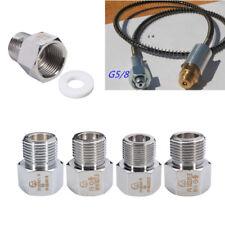 Chrome Aquarium CO2 Carbon Dioxide Regulator Cylinder Adapter Joints  UK ! !