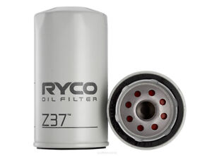 Ryco Oil Filter Z37 fits Toyota Hilux 2.0 4x4 (N30/40), 2.0 4x4 (RN46R), 2.0 ...