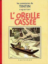EO CASTERMAN + HERGÉ TIRAGE FAC-SIMILÉ 1986 TINTIN : L'OREILLE CASSÉE