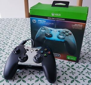 PowerA Spectra  WIRED XBOX one controller TESTED CHANGES COLOUR
