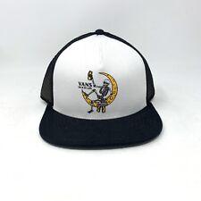 Vans Norris Black Snapback Trucker Hat OS Baseball Cap New Adjustable Hi Life