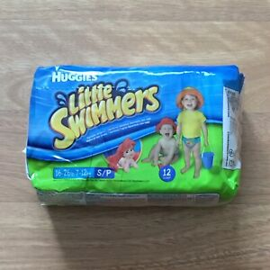 Huggies Lil Swimmers Mermaid Small 16 26 lbs 12 count packages 2007