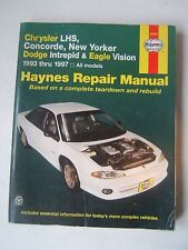 Chrysler Dodge Eagle Haynes Repair Manual 1993-1997 LHS Intrepid Vision ShopUsed