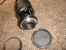 Vivitar For Canon FD Mount 80-200mm f4.5 Manual Focus Zoom Lens