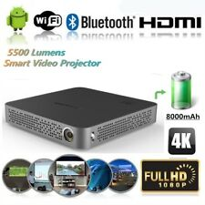 5500 Lumens 4K DLP Projector Android Wifi HD 1080p Home Theater Cinema HDMI USB