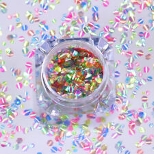 Nail Glitter Sequins Hexagon Mermaid Scales Colorful Flakes 3D Nail Art Decor