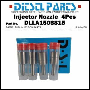 4Pcs Injector Nozzle Tips 0433271849 DLLA150S815 for CASE IH 1964-2001 3218251R2