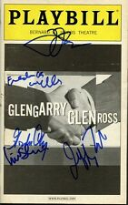 GLENGARRY GLEN ROSS Playbill Signed By FIVE STARS