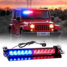 Led Emergency Warning lights Red/Blue Flashing strobe light Bar Traffic Advisor