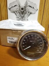 "Harley-Davidson Speedometer 5"" Dual Calib Black Part # 67196-11A"