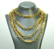 Very Rare Chanel Infinity Chain Necklace