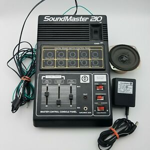 Soundmaster 210 Sound Control HO Scale AA210 MRC Model Train Railroad