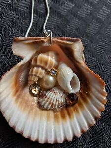 Seashell Pendant- mermaid pendant- ocean attire