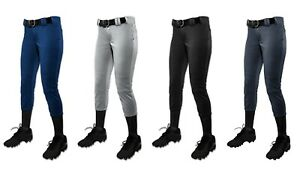 Champro Sports WOMEN'S Tournament Traditional, Low-Rise Fastpitch Softball Pants
