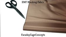 """EMF RFID RF Copper Conductive Fabric Roll - 43"""" x 100' (feet!)"""