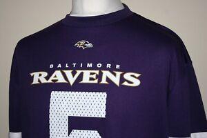 Baltimore Ravens - NFL Team Jersey Shirt - Size XL - #5 Flacco - Excellent Top