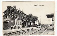 CASSEL: French Railway Station postcard (C1329).