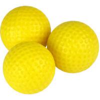 New JP Lann Player Supreme 1 Dozen Yellow Foam Practice Golf Balls - 12