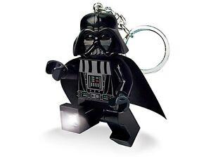 "Lego Star Wars Darth Vader Porte-Clés Torche LED Neuf Superbe Cadeau 3 """