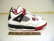 Nike Air Jordan IV 4 Fire Red Retro GS 2012 sz 4Y cement bred db shadow olive ii