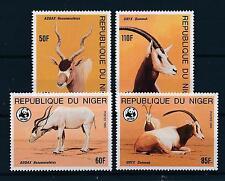 [54114] Niger 1985 Wild animals Mammals Wwf Antelope Oryx Mnh