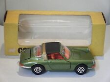 "Corgi No: 382 ""Porsche 911S Targa"" - Green/Orange interior (Original 1970/Boxed)"
