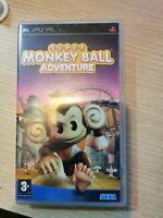Super Monkey Ball Adventure Sony PSP vdeo game VGC