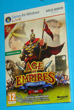 Age of Empires Online - I Greci - PC - New Nuovo Sealed
