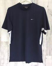 Nike Sphere Shirt Men'S Med Fitness Top Navy Blue