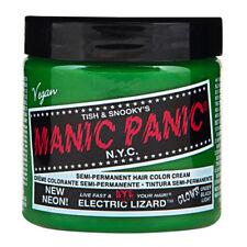 Neon Electric Lizard Green Manic Panic Vegan 4 Oz Hair Dye Color