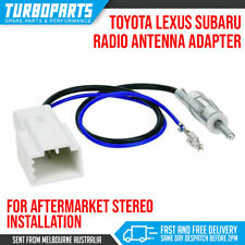 DIN MALE RADIO ANTENNA ADAPTER FOR SUBARU TOYOTA LEXUS HILUX LANDCRUISER BRZ WRX