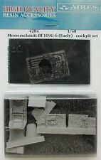 AIRES 1/48 Messerschmitt Bf109G-6 (early) COCKPIT SET FOR HASEGAWA KIT # 4284
