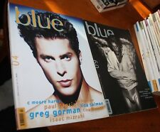(not only) Blue Magazines, Issues 4, 9 & DREAMBOYS (a special issue of blue) Vo1