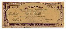 Philippines/Cagayan … P-S187 … 1 Peso … ND(1940'5)-CuteSerial #- … *AU*