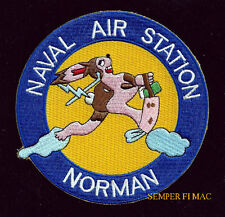 NAS NORMAN PATCH US NAVAL AIR STATION NAVY VETERAN GIFT USS BASE WOW