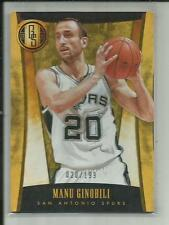 MANU GINOBILI 2013-14 PANINI GOLD STANDARD #284 020/199 1/1
