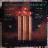 The Many Moods Of Christmas -EX RCA vinyl LP album- Harry Belafonte - Vic Damone