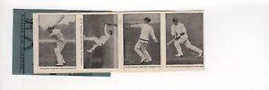 Test Match Record Breakers 1930s. Cricket,, Australian, UK inc Bradman,