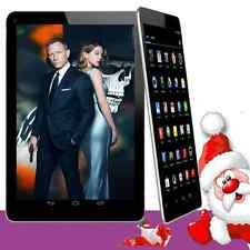 """Unlocked 7"""" inch A33 Android 4.4 Tablet PC Quad Core WiFi 3G Dual 4GB Black Hot"""