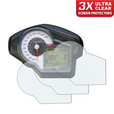 3 x Aprilia Mana 850 / GT Dashboard Screen Protectors: Ultra-Clear