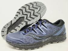 Saucony Men's Guide ISO 2 Trail Running Shoe, Slate/Blue, 13 D(M) US