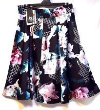 Plus Sz S - M / 18 TS Taking Shape Event-wear Oriental Garden Skirt