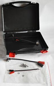 Kunststoff-Koffer Tekno 2004 mit Verkabelung für unsere TFA Big Echolottasche