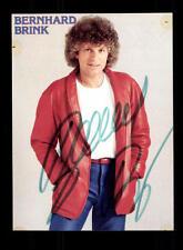 Bernhard Brink  Autogrammkarte Original Signiert ## BC 88384