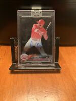 2018 Topps Clearly Authentic Autographs Black #CAAJV Joey Votto