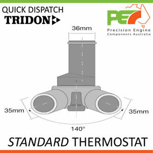 New * TRIDON * Standard Thermostat For Fiat 124 125 131 - 132 Argenta